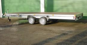 Plateau 2 essieux en aluminium (2)